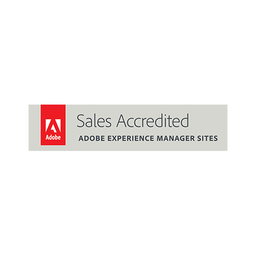 Descriptive Image: Adobe Experience Manager Sites certificate