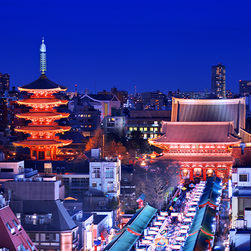 Campaign Image: Asian city at night
