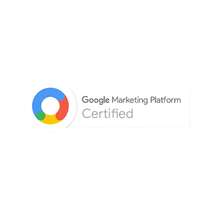 Imagem Descritiva: Certificado Google Marketing Platform