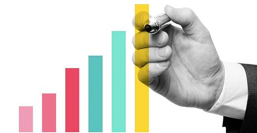 Gráfico e Relatório de Crescimento