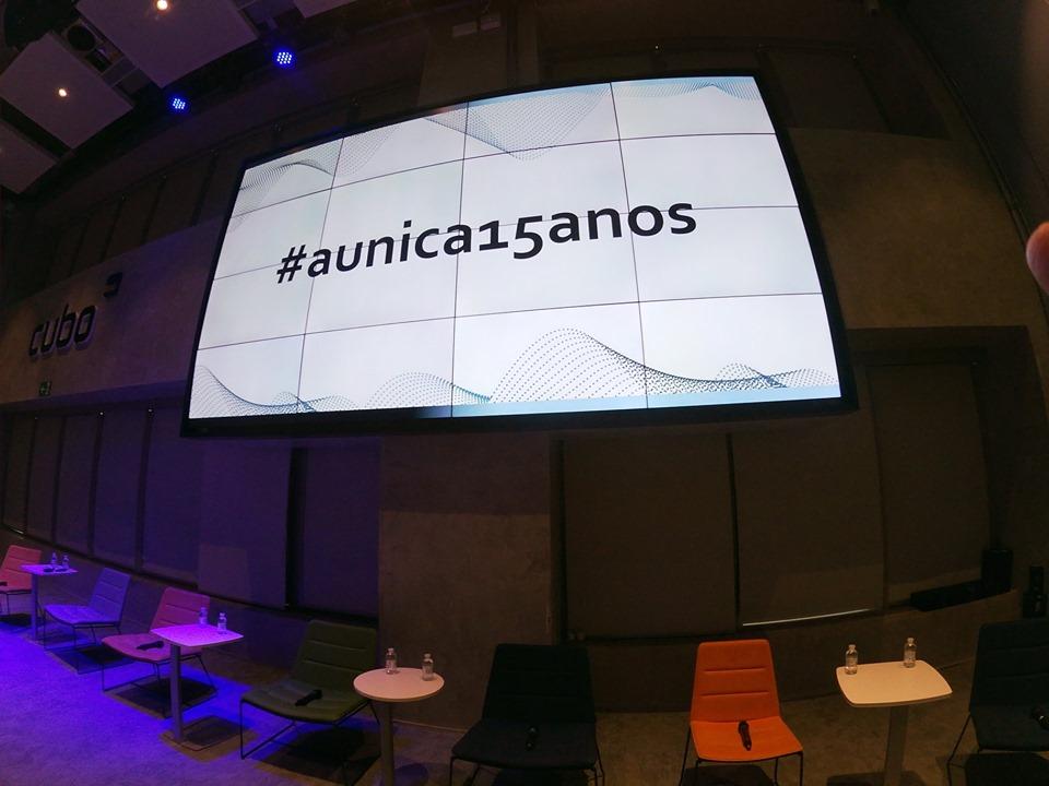 evento aunica 15 anos