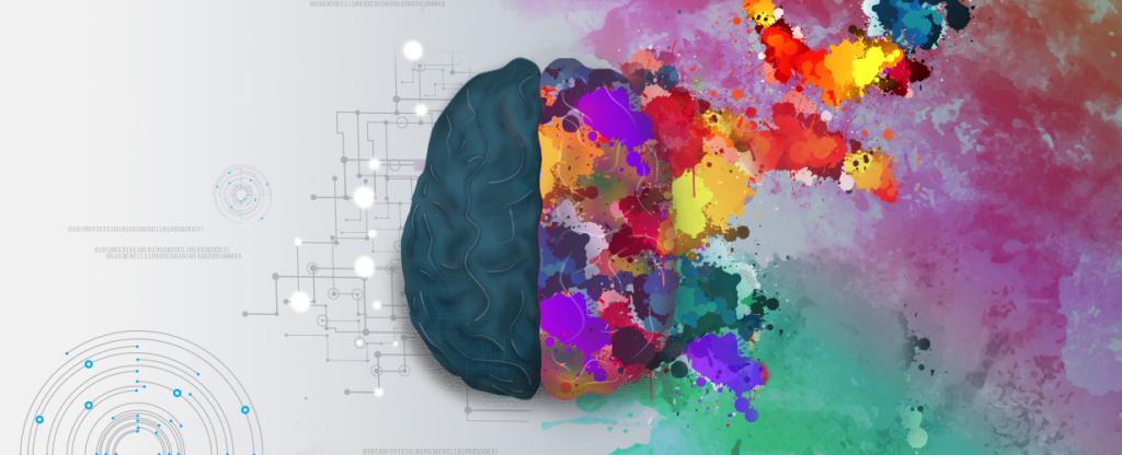 cérebro criativo analítico