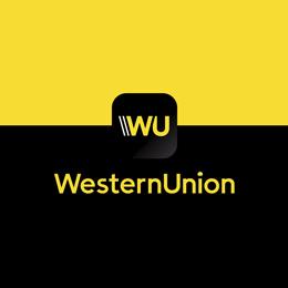 Logo Western Union WU Cliente