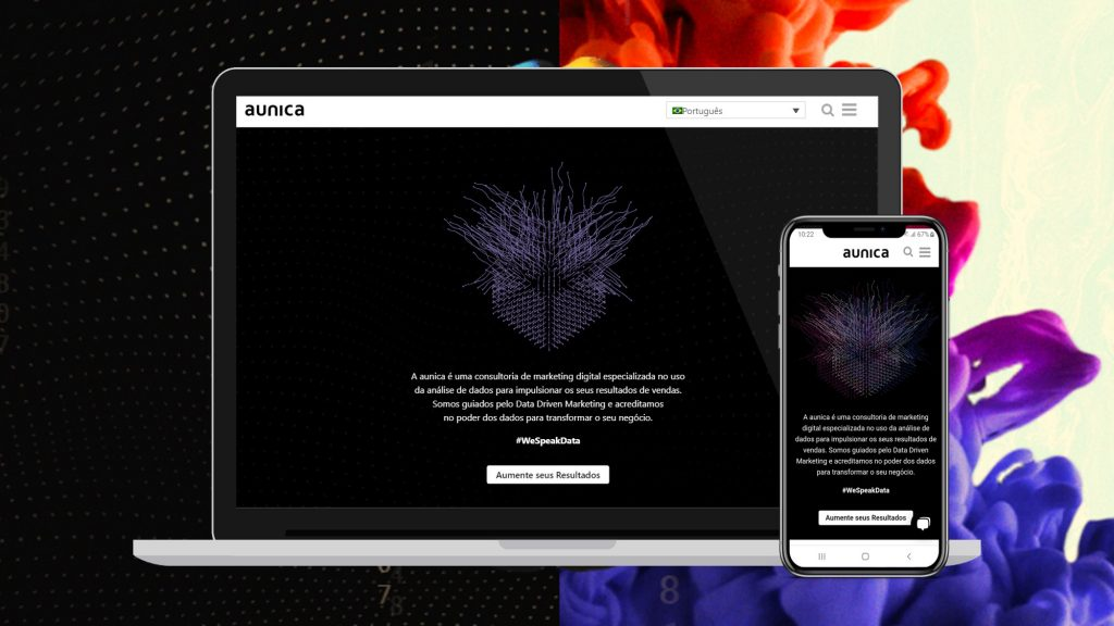 Novo Site aunica Interactive Marketing
