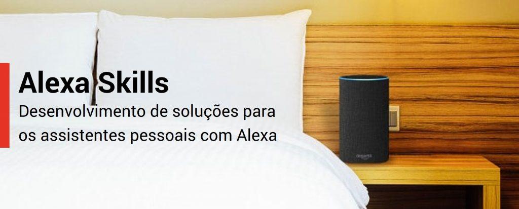 Desenvolvimento Soluções Skills Alexa