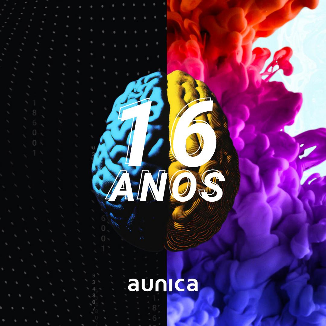 aunica completa 16 anos de muito sucesso