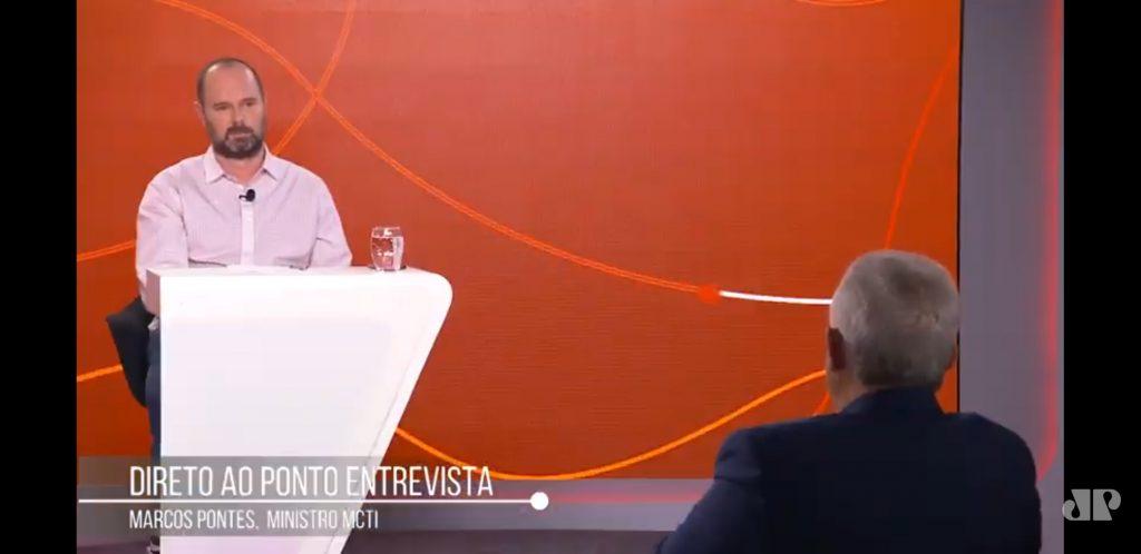 Entrevista Marcos Pontes Roberto Eckersdorff
