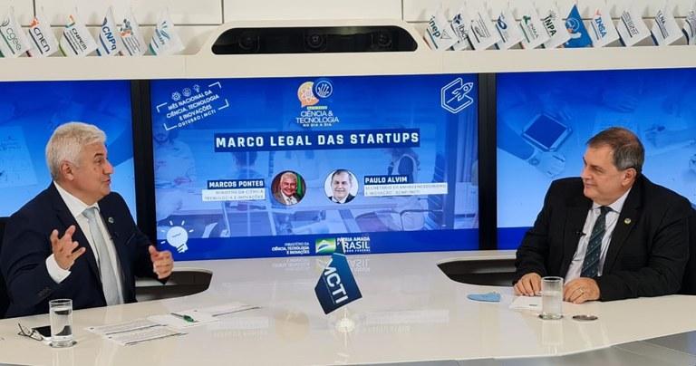 Novo Marco Legal Startups Marcos Pontes