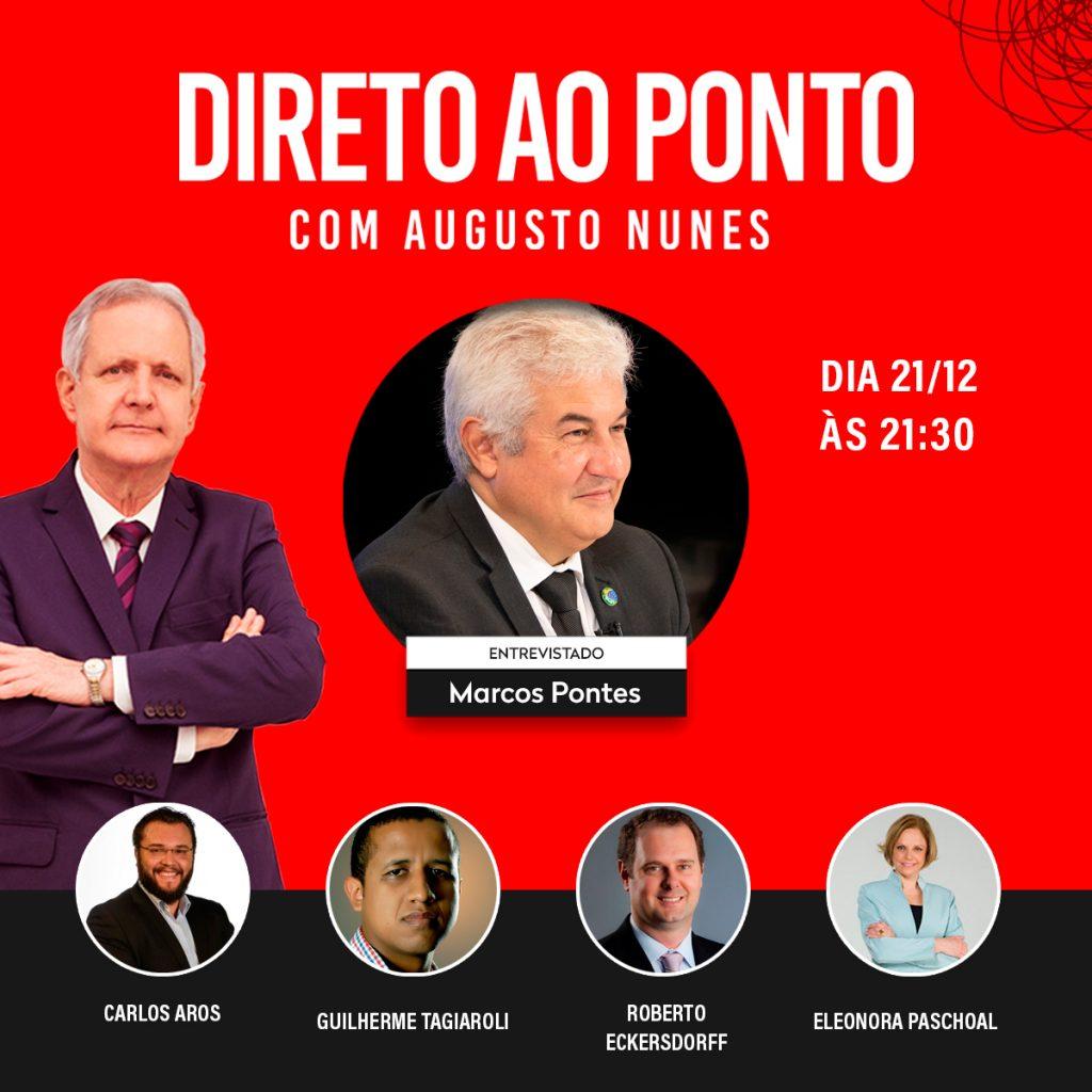 Direto ao Ponto Augusto Nunes Roberto Eckersdorff